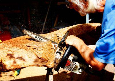 Arbeitsimpressionen Giorgio Skulpturen Engel (7)